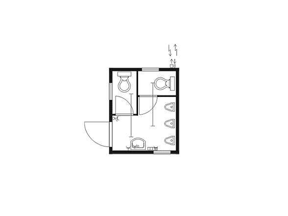 container kaufen toilettencontainer 10 39 typ 300toi menzl gmbh. Black Bedroom Furniture Sets. Home Design Ideas