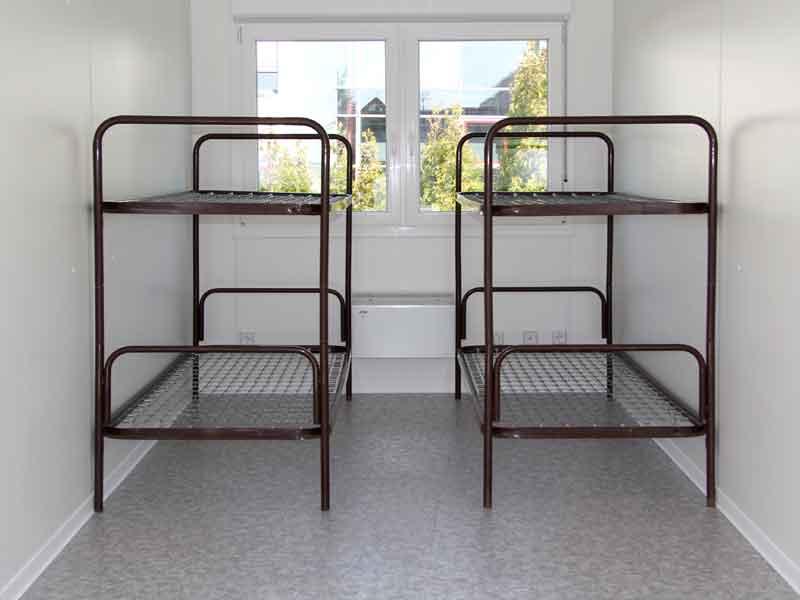container zubeh r stahlrohr doppelbett menzl gmbh. Black Bedroom Furniture Sets. Home Design Ideas