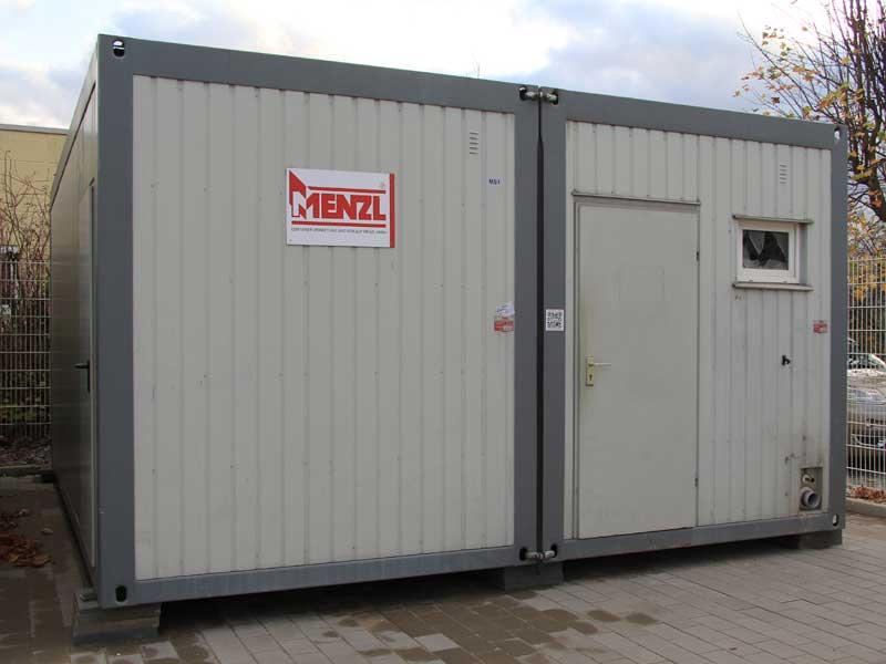 Sonderangebote - Doppelcontainer 20\' mit WC - gebraucht - günstig ...