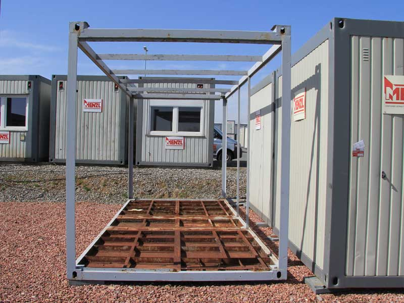 Sonderangebote - Containerrahmen gebraucht kaufen - bereits entkernt ...