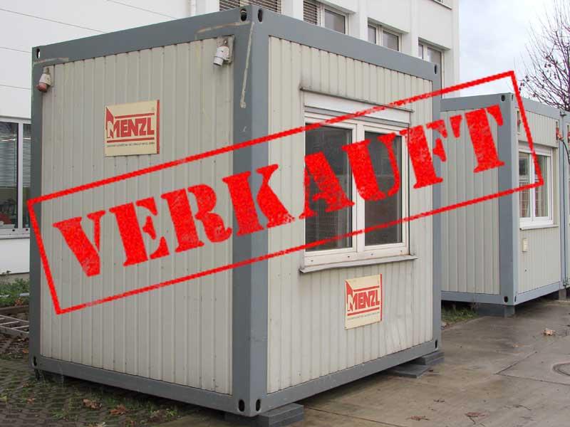 sonderangebote kleiner b rocontainer 10 39 ca 3x2 5m. Black Bedroom Furniture Sets. Home Design Ideas