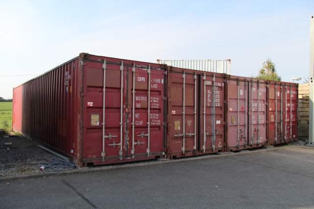 Sonderangebote - Seecontainer 40 Fuß - 12 x 2,5m - Farbe nach ...
