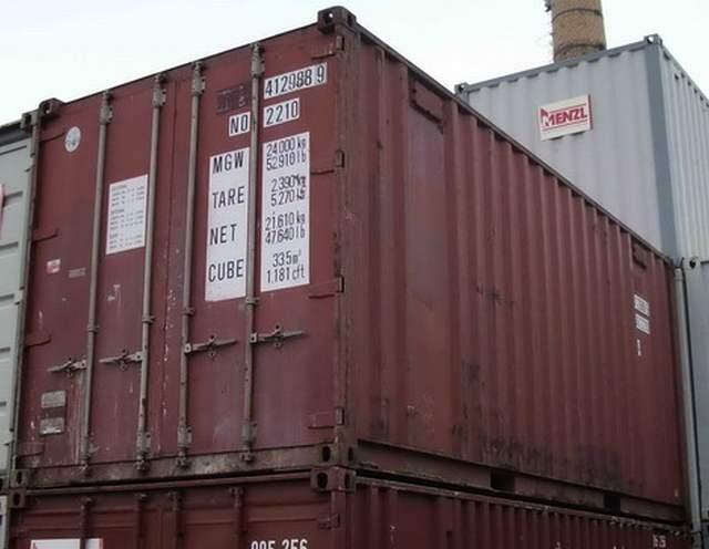 Sonderangebote - Gebrauchte Seecontainer 20 Fuß - 6 x 2,5m ...