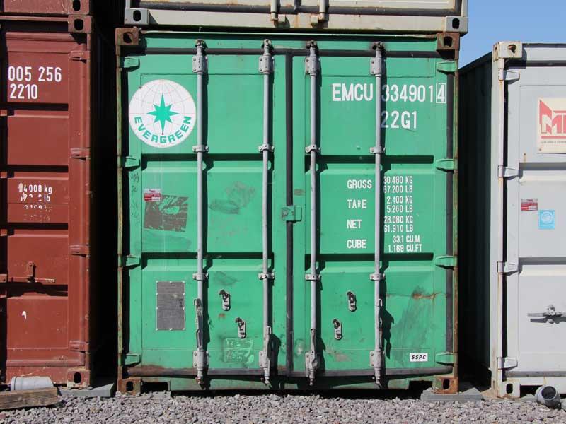 Sonderangebote - Gebrauchte Seecontainer 20 Fuß - 6 x 2,5m – Farbe ...