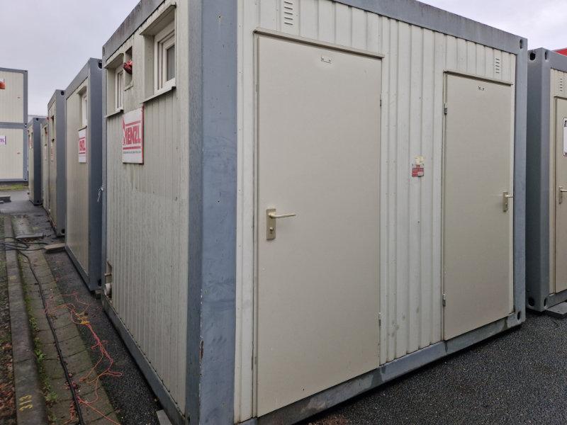 Kleiner Gebrauchter Toilettencontainer 10