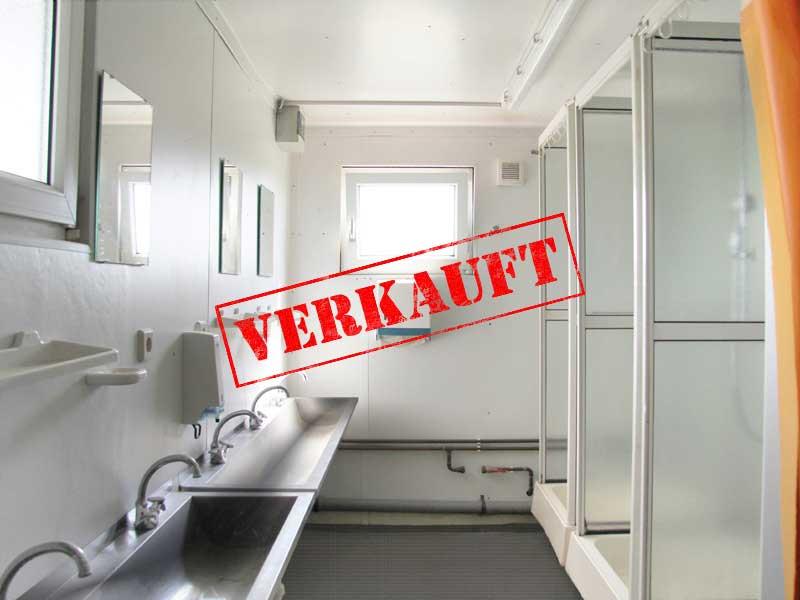 sonderangebote duschcontainer 20 39 6 x 2 5m gut gebraucht kaufen menzl gmbh. Black Bedroom Furniture Sets. Home Design Ideas
