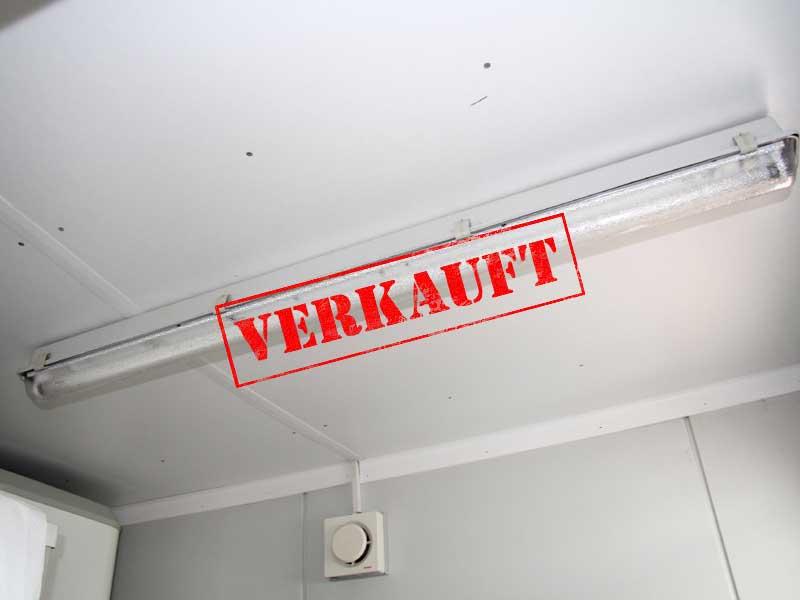 Lampe Dusche Decke : Sonderangebote - Gebrauchter Sanitärcontainer 10 ...